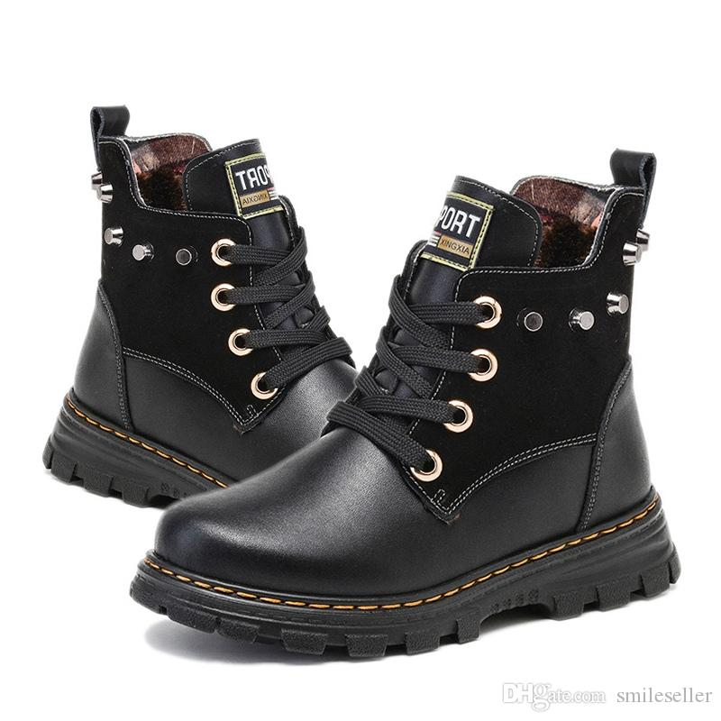 Newly Sales Kids Ankle Boots Winter Children Shoes Warm Snow Boots ...