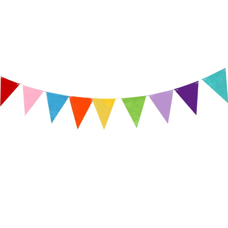 Birthday Cake Bunting Flags