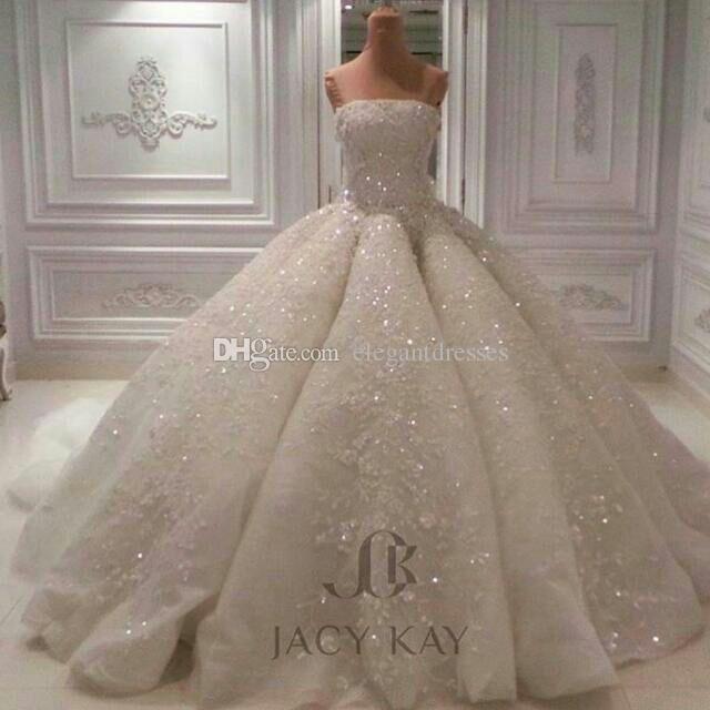 Discount custom made vintage lace 2017 jacy kay strapless for Jacy kay wedding dress