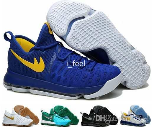 2017 Kevin Durant KD 9 Mens Basketball Shoes,Cool Grey ...