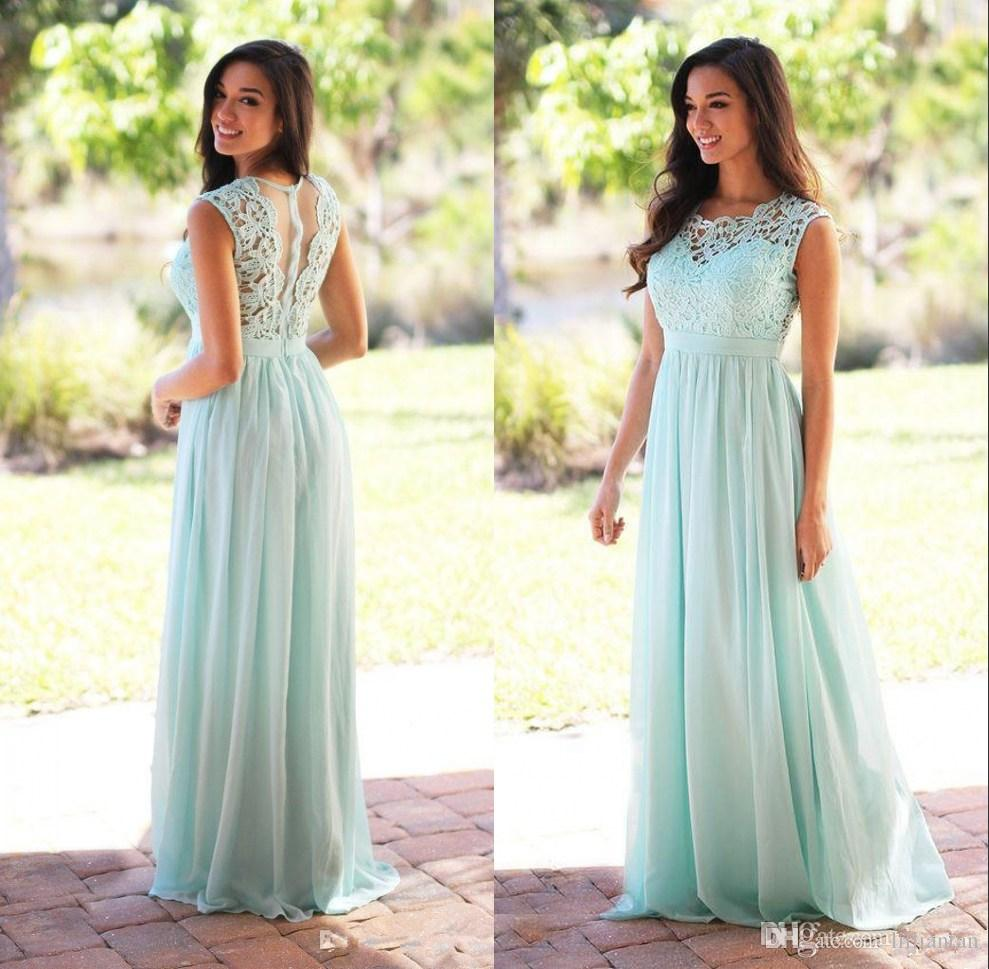 Mint green pink long bridesmaid dresses a line country turquoise mint green pink long bridesmaid dresses a line country turquoise bridesmaid dress simple evening party gowns lace chiffon prom dresses high low turquoise ombrellifo Choice Image