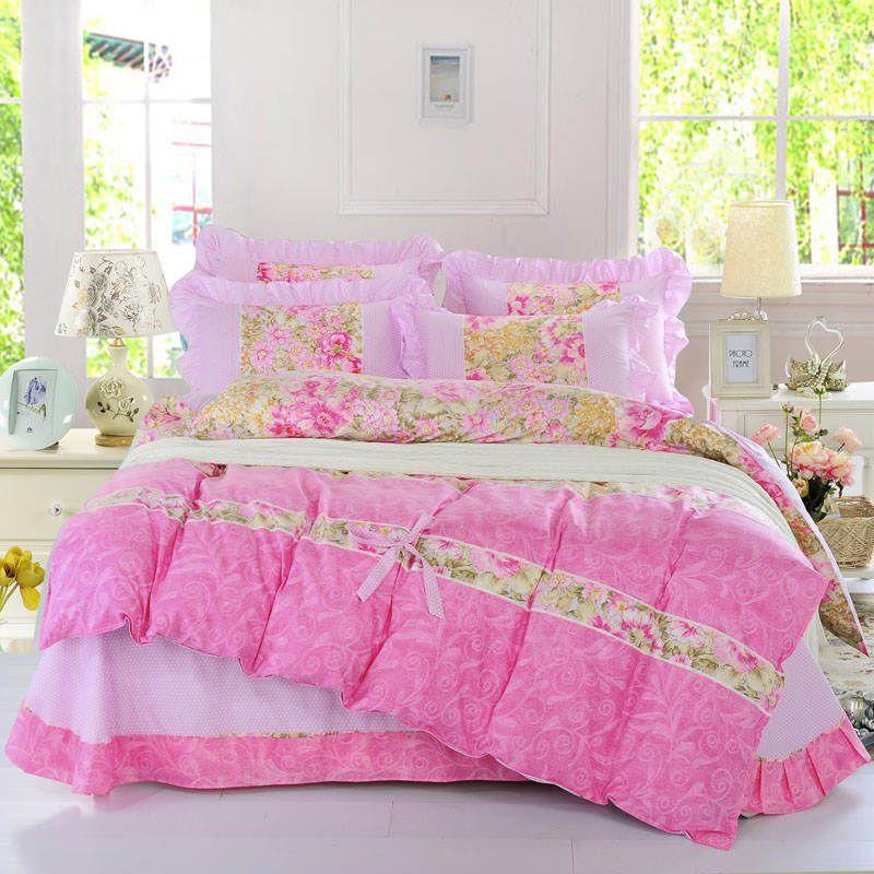 Hot Sales Luxury Bedding Set Pink Hello Kitty Bedding Supplies ... : quilt cover sales - Adamdwight.com