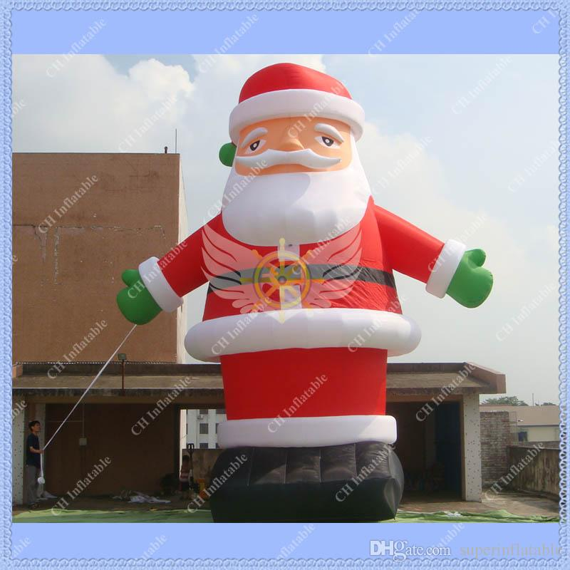 M giant inflatable santa claus for festival ce ul