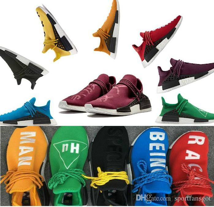 The Red Version Of The 'Human Race' Pharrell x Adidas NMD Is