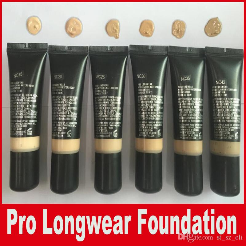 hot new makeup pro longwear nourishing waterproof foundation fond de teint 25ml liquid. Black Bedroom Furniture Sets. Home Design Ideas