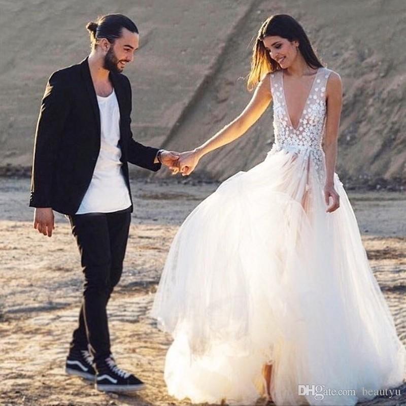 Images beach wedding dresses 2018