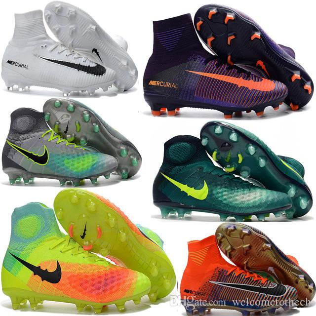 2017 Cheap Mens Women Kids Football Soccer Shoes ...