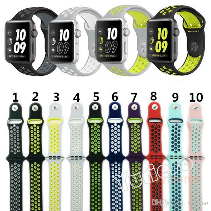 2017 New Hot Silicone Replacement Sports Bands For Apple ...