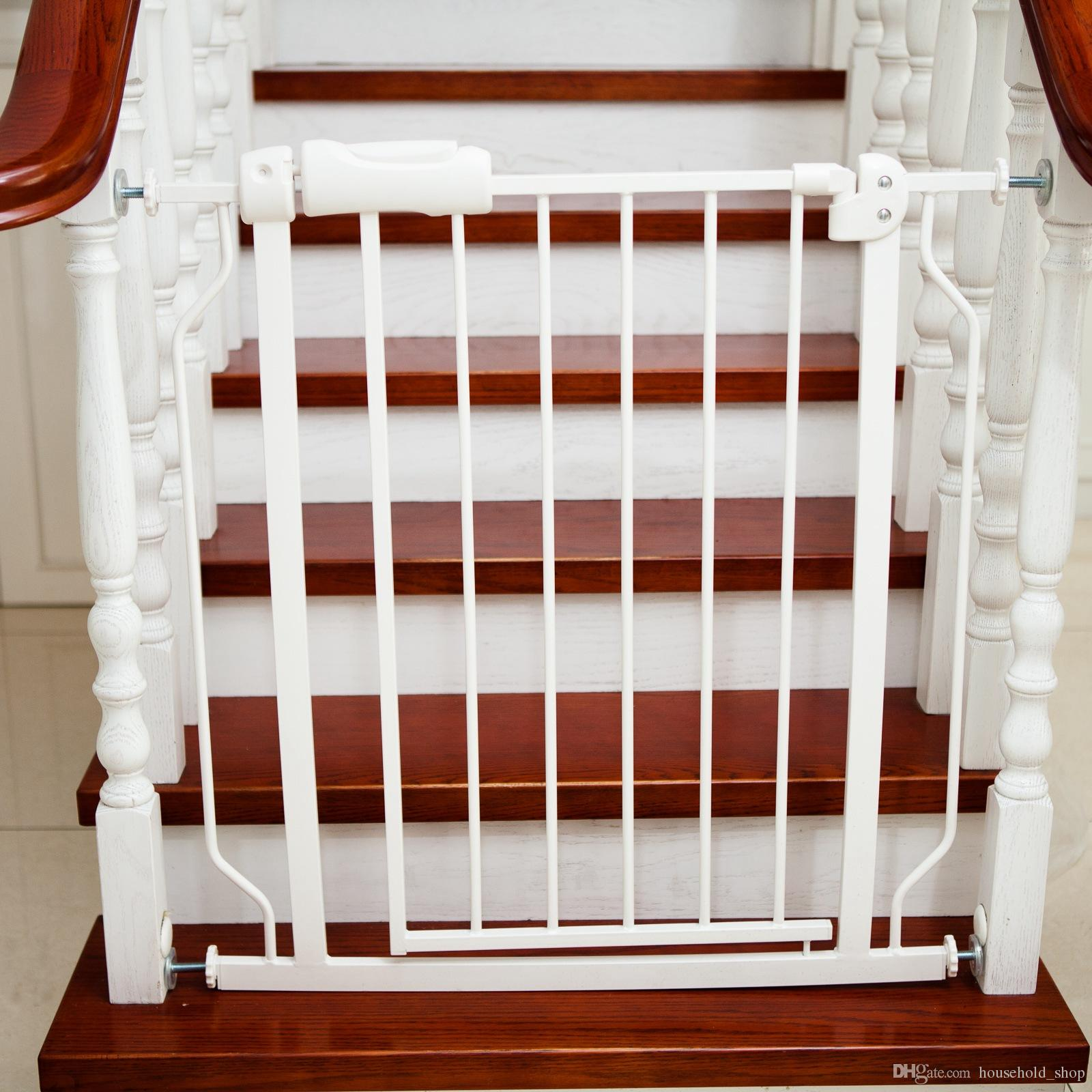 Baby Playpens Pet Door Stair Fence Easy Close Metal Gate Safety Barriers  76x71CM Protect Baby Safe Pet Control Express Setup Baby Playpens Pet  Control Fence ...