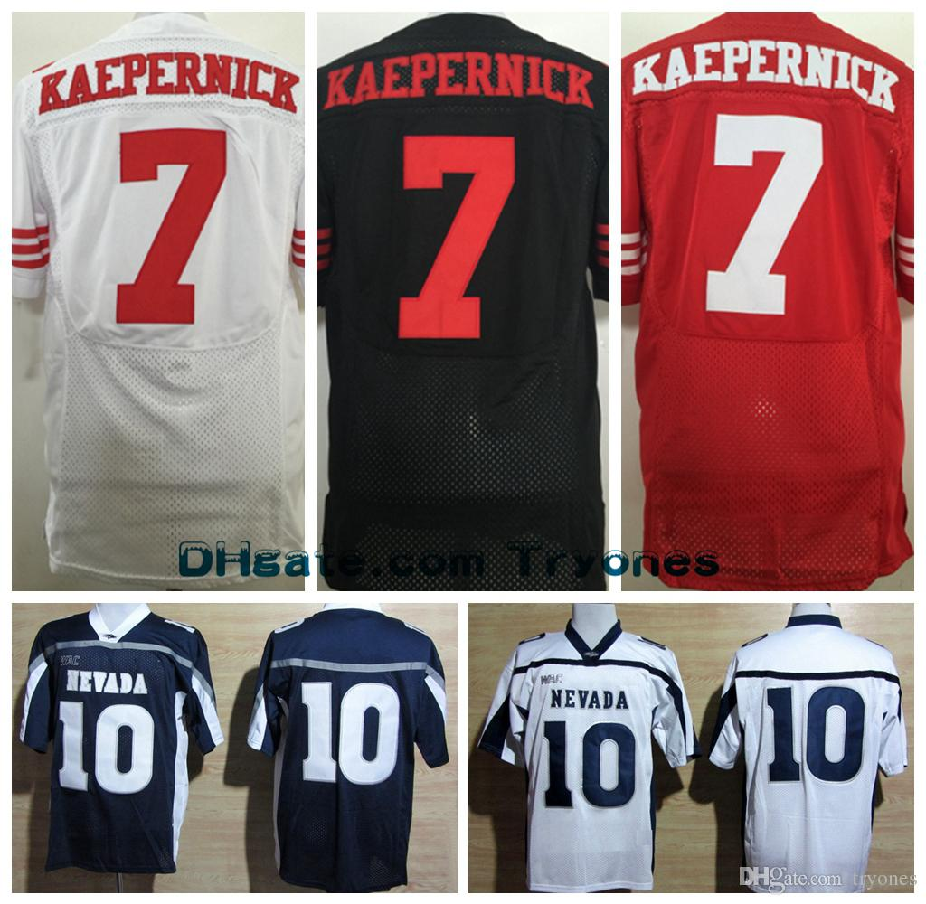 a4ddda929ec ... Nevada Wolf Pack College Jerseys Cheap 10 Colin Kaepernick Stitched  Jersey Throwback Blue White Stitched Shirts David Parry Jersey Nike  Buccaneers ...