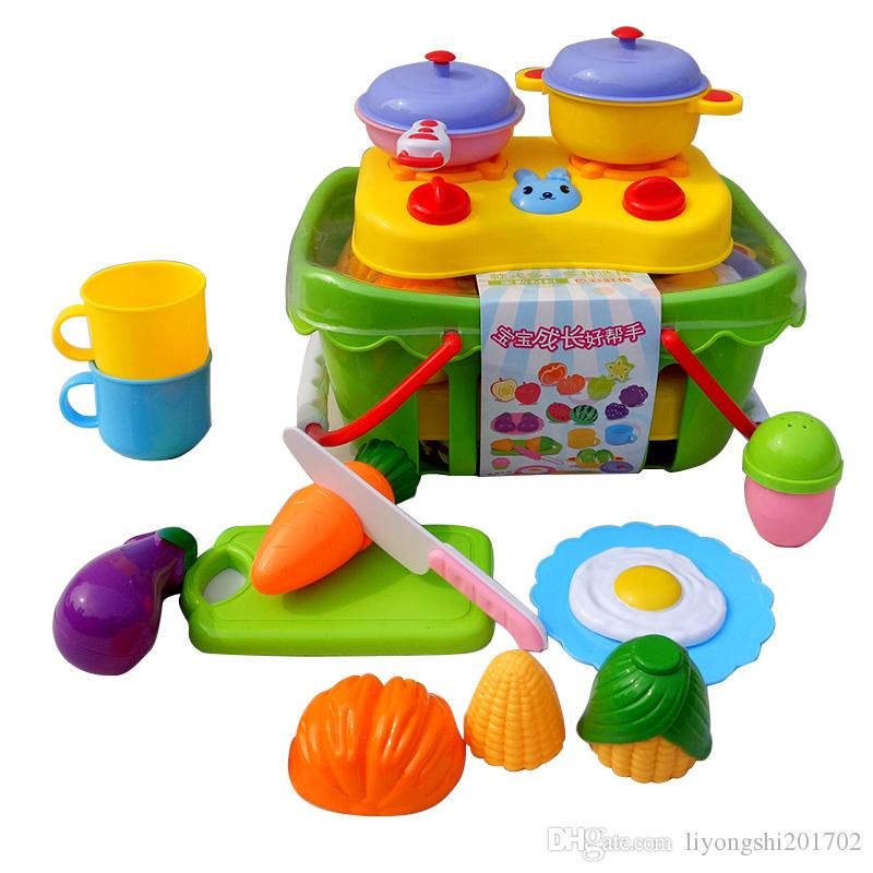 Latest Educational Toys : The latest educational toys play basket foods fruit