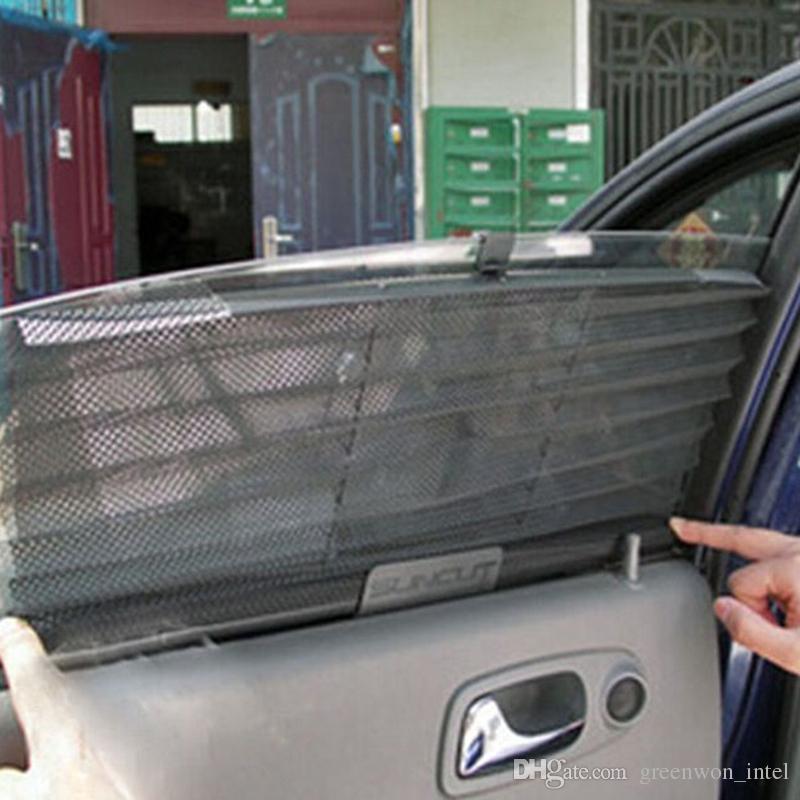 Car Window Sunshade Curtain Black Side Rear Window