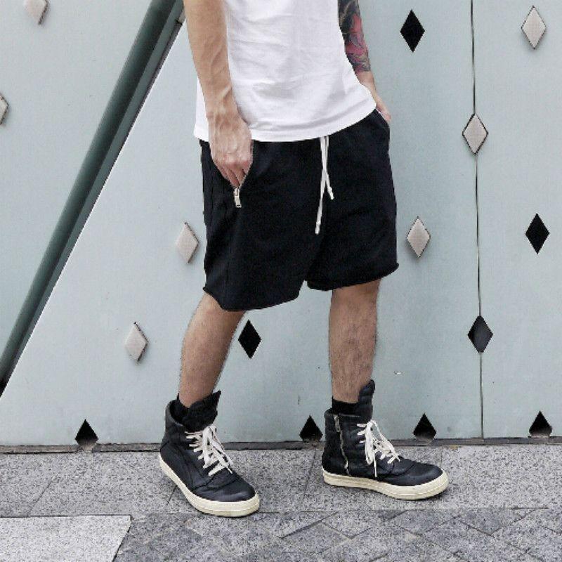 Fashion Man RO Style Sweat Shorts Summer Mens Capri Cotton Loose ...