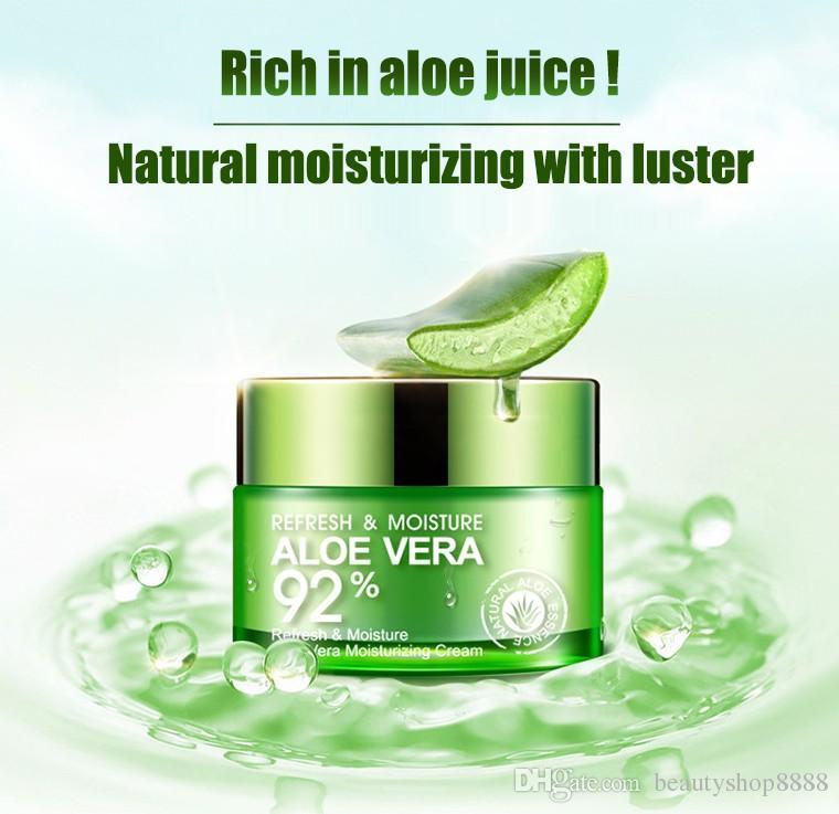 2017 beauty nature aloe vera skin cream with rich aloe repair soothing moisturizer gel essence. Black Bedroom Furniture Sets. Home Design Ideas