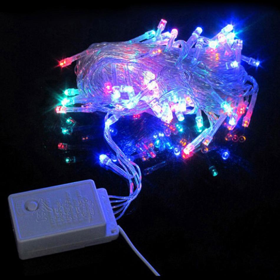 String Lights Bulk : Wholesale-String Light 100 LED 10M Christmas/Wedding/Party Decoration Lights AC 110V 220V ...