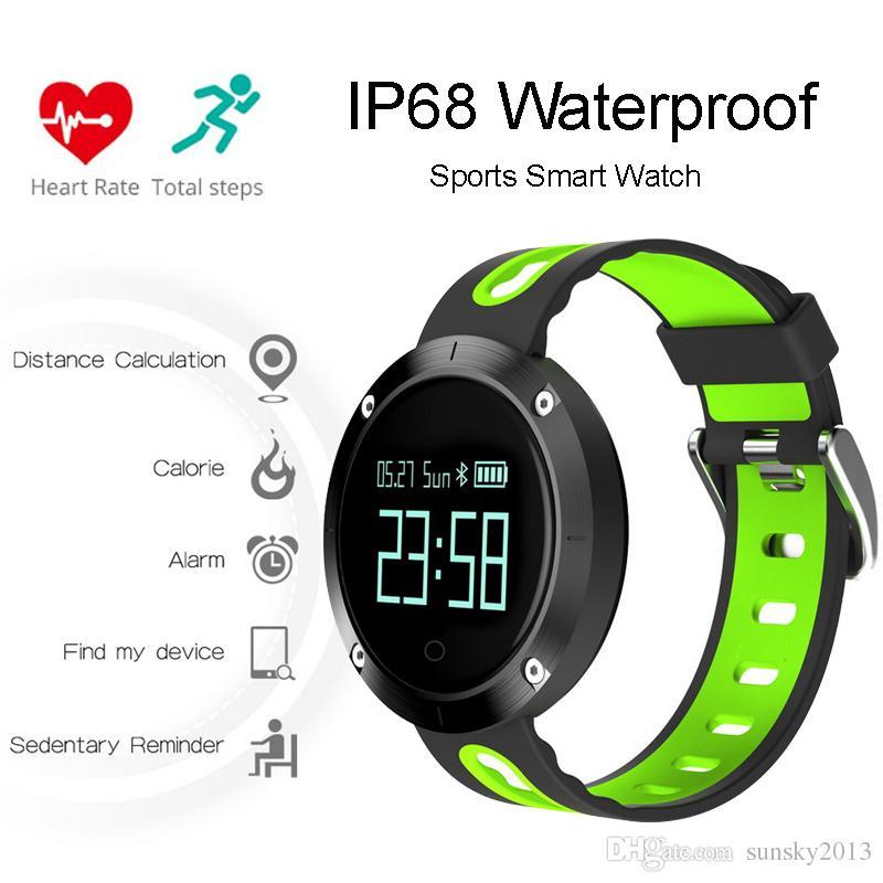 Ip68 Waterproof Sports Smart Watch For Swimming Surf Heart ...