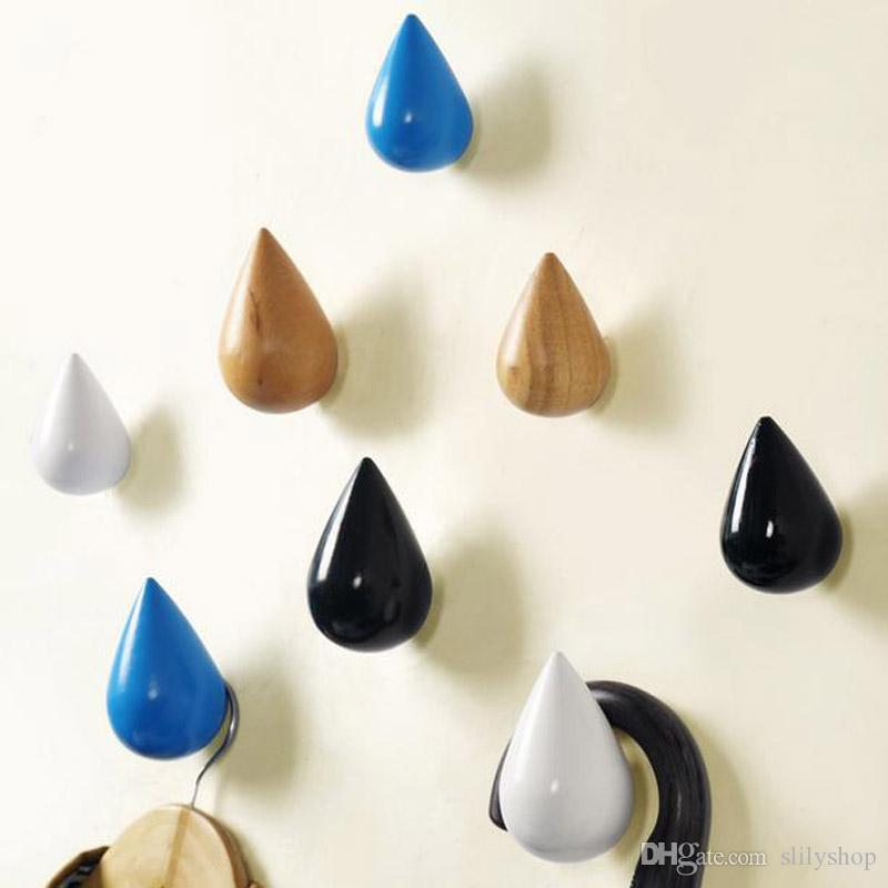 Creative Small Brief Modern Water Drop Shot Hanging Hooks For Coat Hat Bag  Umbrella Wall Hanger Creative Rain Drop Wall Hook Home Decor Wall Hanger  Hooks ...