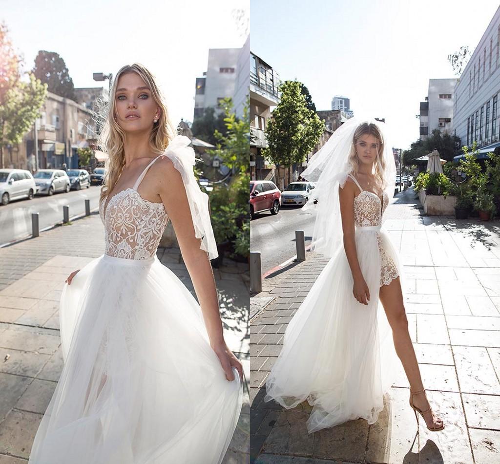 Dimitrius dalia sexy illusion 2017 arabic beach wedding for Dimitrius dalia wedding dresses