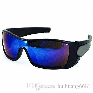 Livraison gratuite Mix Color batwolf lunettes de soleil Fashion New Men Women Lu