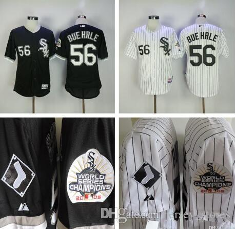 cheap 56 mark buehrle chicago white sox 2005 world series champions patch retro throwback baseball jerseys best stitched embroided baseball jerseys ch