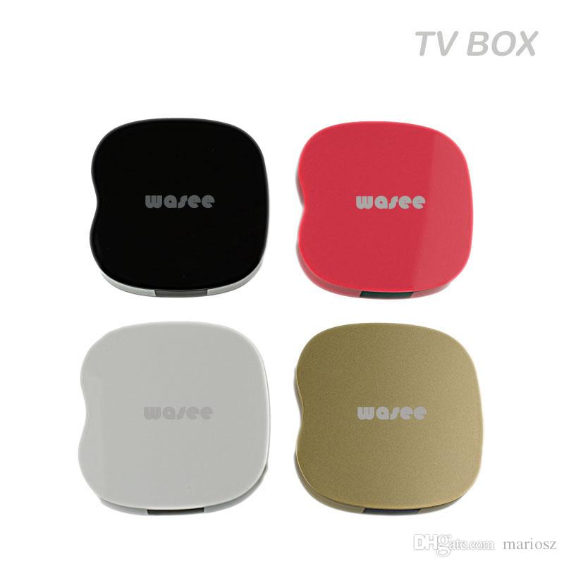 2017 Dual tuner rk3229 coloré mini SET TOP BOX 4K quad core android 5.1 hd googl