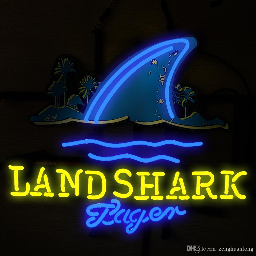 2017 Fashion New Handcraft Land Shark Real Glass Tubes