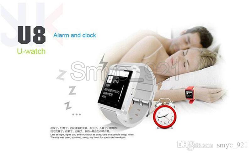 Smartwatch U8 U Watch Bluetooth Smart Watches Wrist Smart ...