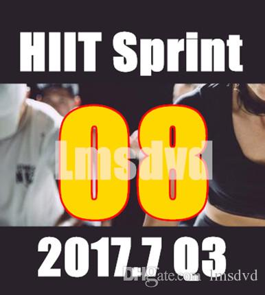 Top-vente 2017.7 Juillet Q3 New Routine SPRINT 08 HIIT 30 Minutes Exercice Fitne