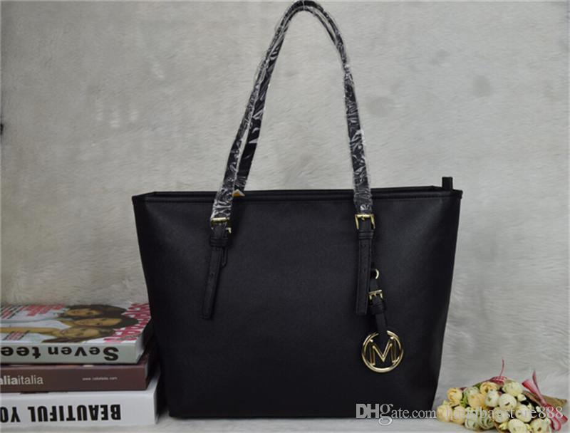 Famous Brand Fashion Women Bags Michael Kally Mk Lady Pu Leather ...