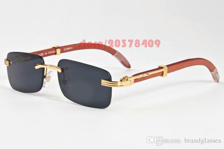 Rimless Eyeglasses 2017 : 2017 Men Full Rimless Frames Sunglasses High Quality ...