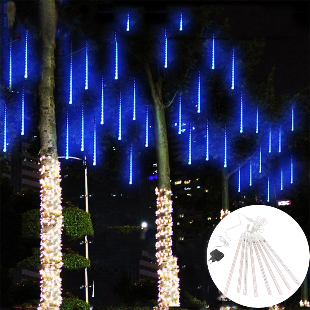 Wholesale light strip multicolor cm meteor shower rain