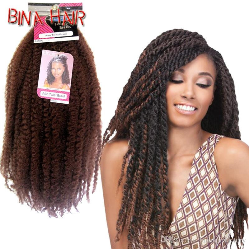 Super Synthetic Crochet Braiding Hair 18Inch 32Roots Pack Royal Silk Hairstyles For Women Draintrainus