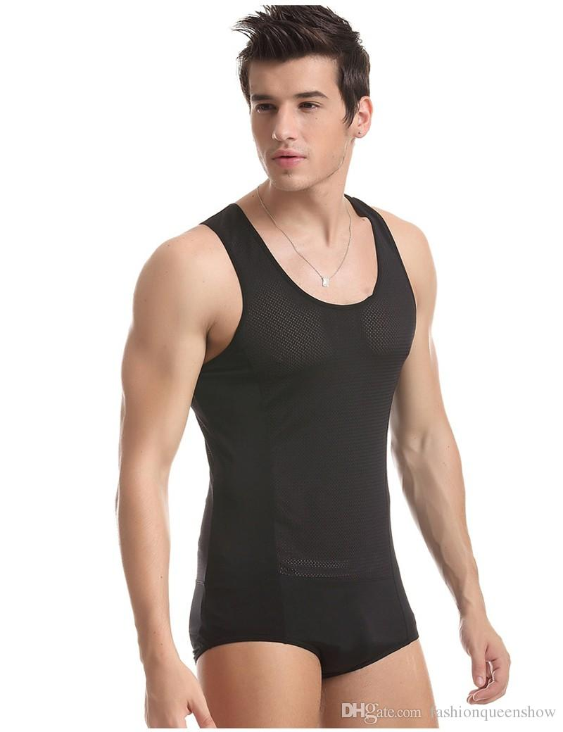 How cool are you gonna look in this piece! Stretchy, lightweight, short-sleeved bodysuit features a front zipper and a colorblock design with striped panels. Bodysuit is finished with double snap button closure at the crotch for easy on and off.