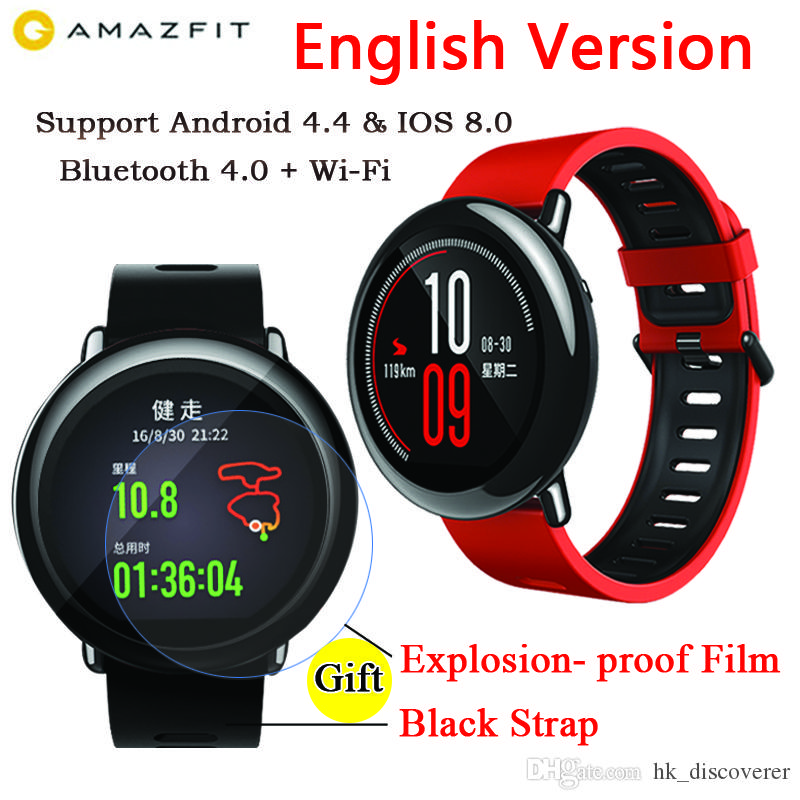 english Version Original Xiaomi Huami Amazfit Pace Sport ...