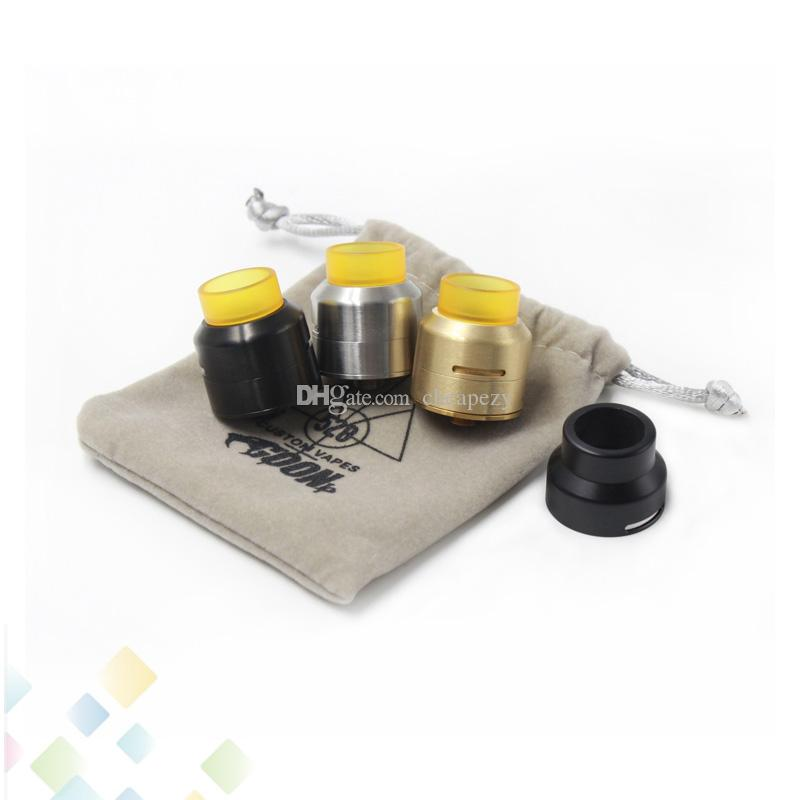 Vaporisateur 528 Goon LP RDA 24MM Goon LP Atomiseurs 3 Couleurs Isolateur Peek a