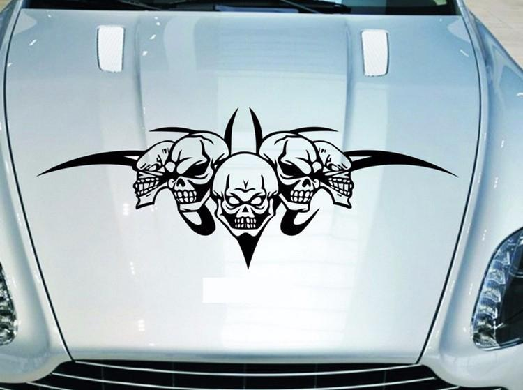 X Cm Creative Car Decals Stickers Cool Skull Ghost Rider - Cool car decal stickers