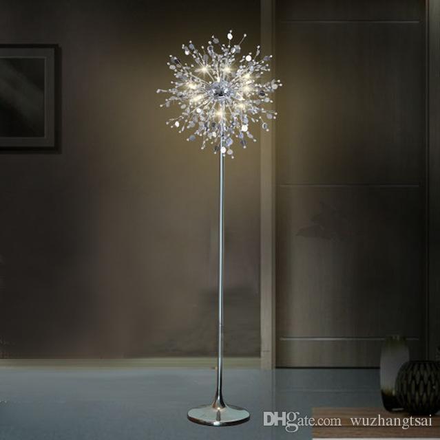 2018 american european classic decorative flower tree for Led flower floor lamp