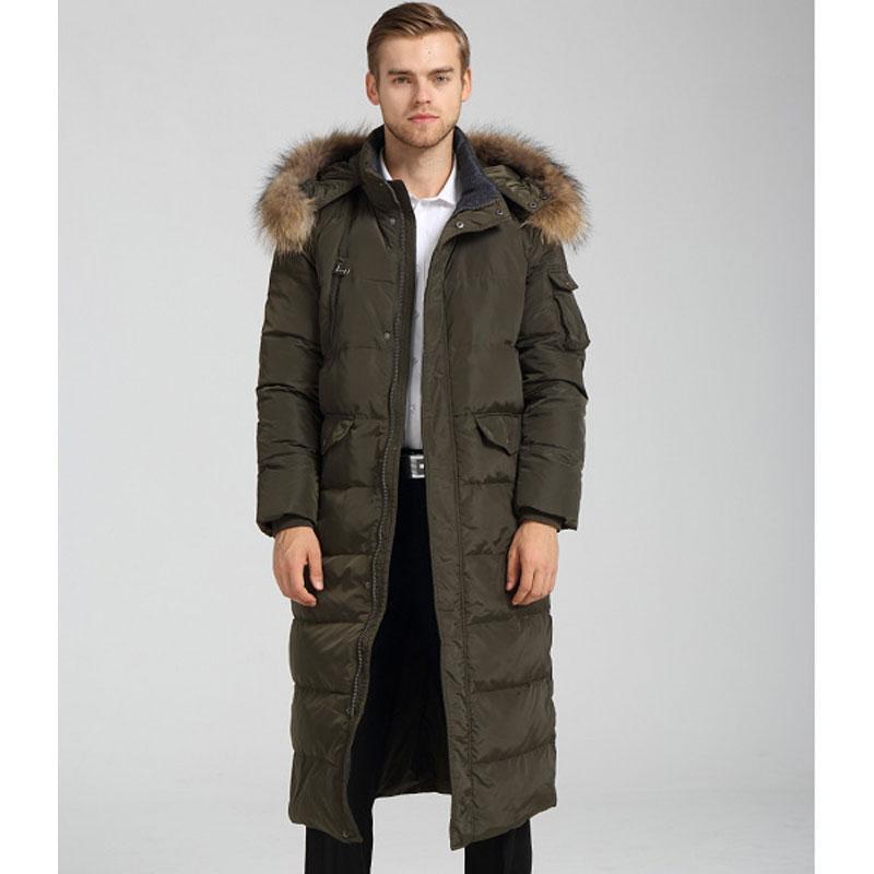 Long Down Coats Men Down Jackets Winter Man Down Coat Parka Jacket ...