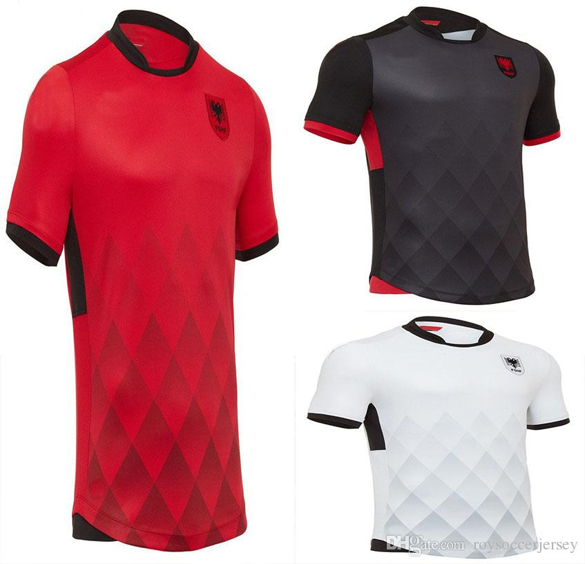 Albania Soccer Country Jersey Brun