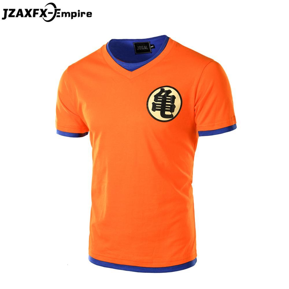 Shirt design online uk - Wholesale Men S Dragon Ball T Shirt Fashion Design Master Roshi Pattern Summer Camiseta Dragon Ball Shirts 3d T Shirt For Men Cosplay
