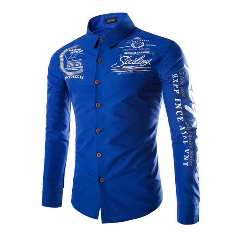 2017 Wholesale 2017 New Trend Mens Shirts Fashion Long
