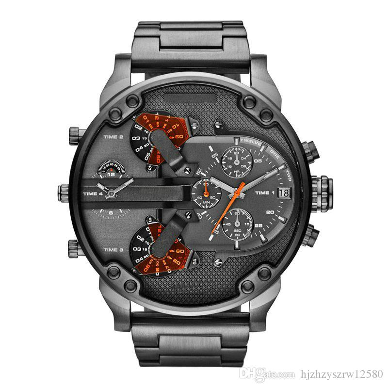 new men s large dial watch fashion business watches 7333 55mm new men s large dial watch fashion business watches 7333 55mm stainless steel watches 7315 for mans