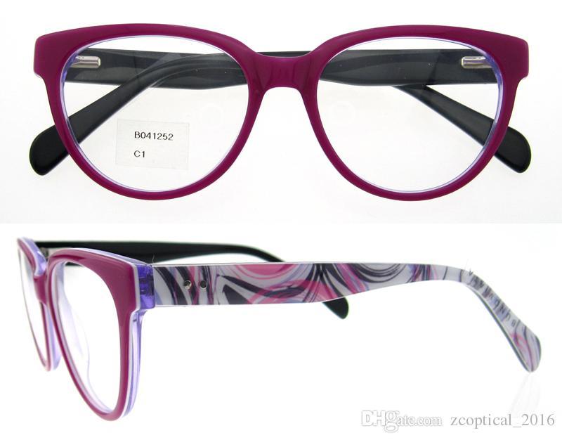 2016 brand designer eyewear frames flexible myopia men women fashionable optical eyeglasses prescription glass eye cat