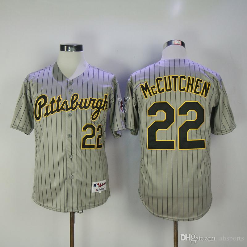 Hommes Pittsburgh Pirates Andrew McCutchen maillots majestueux Cool Base Player
