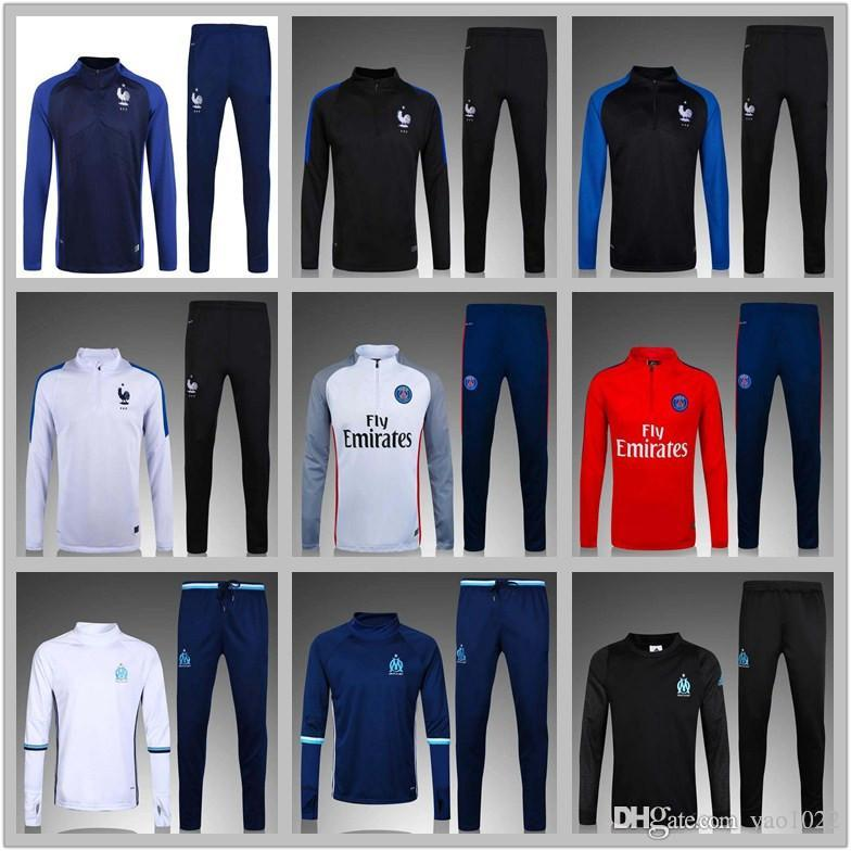 2017 surveillant football france football jackets 16 17 GRIEZMANN gging set
