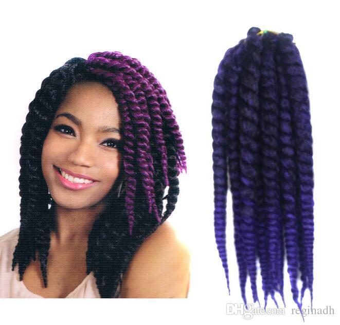 Cheap 12 Inch Wand Curl Crochet Hair Ombre Havana Mambo