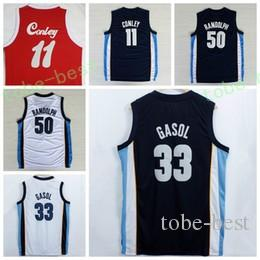 Hot Sale 33 Marc Gasol Jersey 1970 Sons Rouge Bleu Marine Blanc Remonter 50 Zach