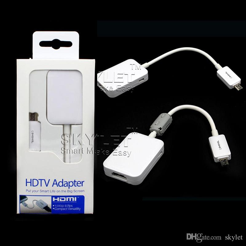 mhl 2 0 smart hdtv adapter mini micro usb to hdmi cables. Black Bedroom Furniture Sets. Home Design Ideas
