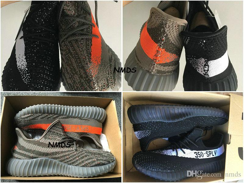 UA Yeezy 350 Boost V2 SPLY 350 Black Red bootssko.net