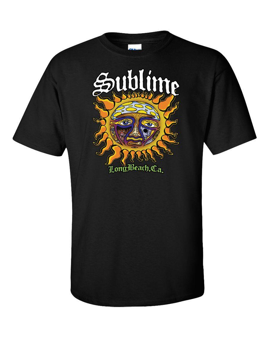 Sublime t shirt long beach california sun ska punk reggae for Sun t shirts sunland california